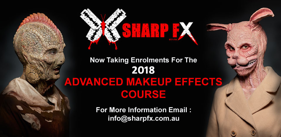 Special Makeup Effects Course 2018