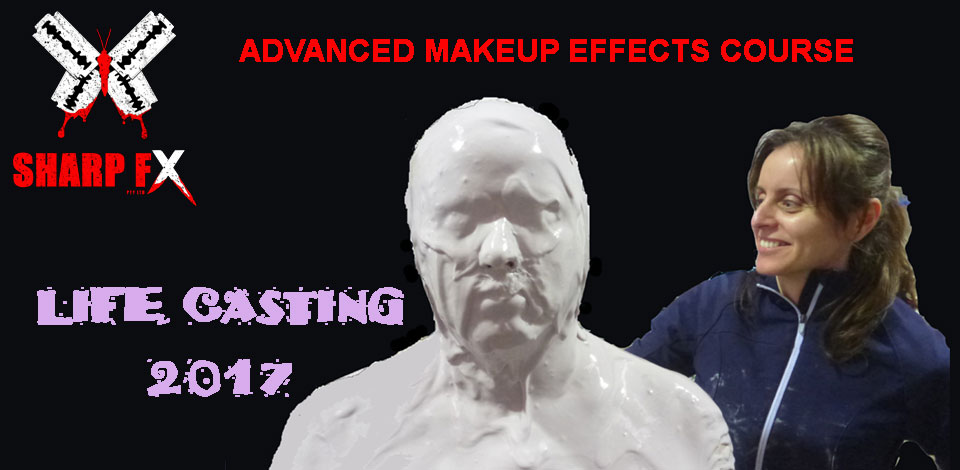 Advanced Makeup Effects Course 2017 Life Casting