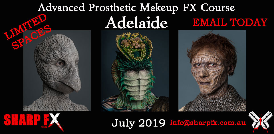 Adelaide Makeup FX Course July 2019